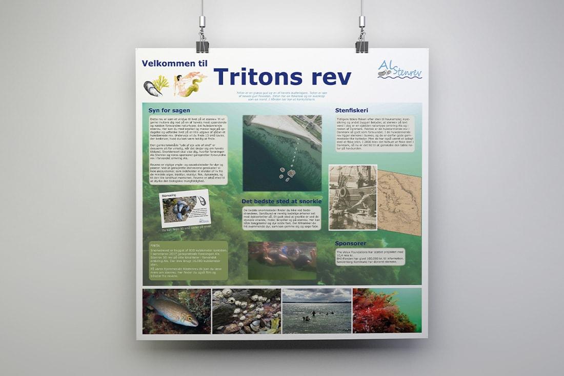 Velkommen til Tritons rev· Leit- und Informationssystem