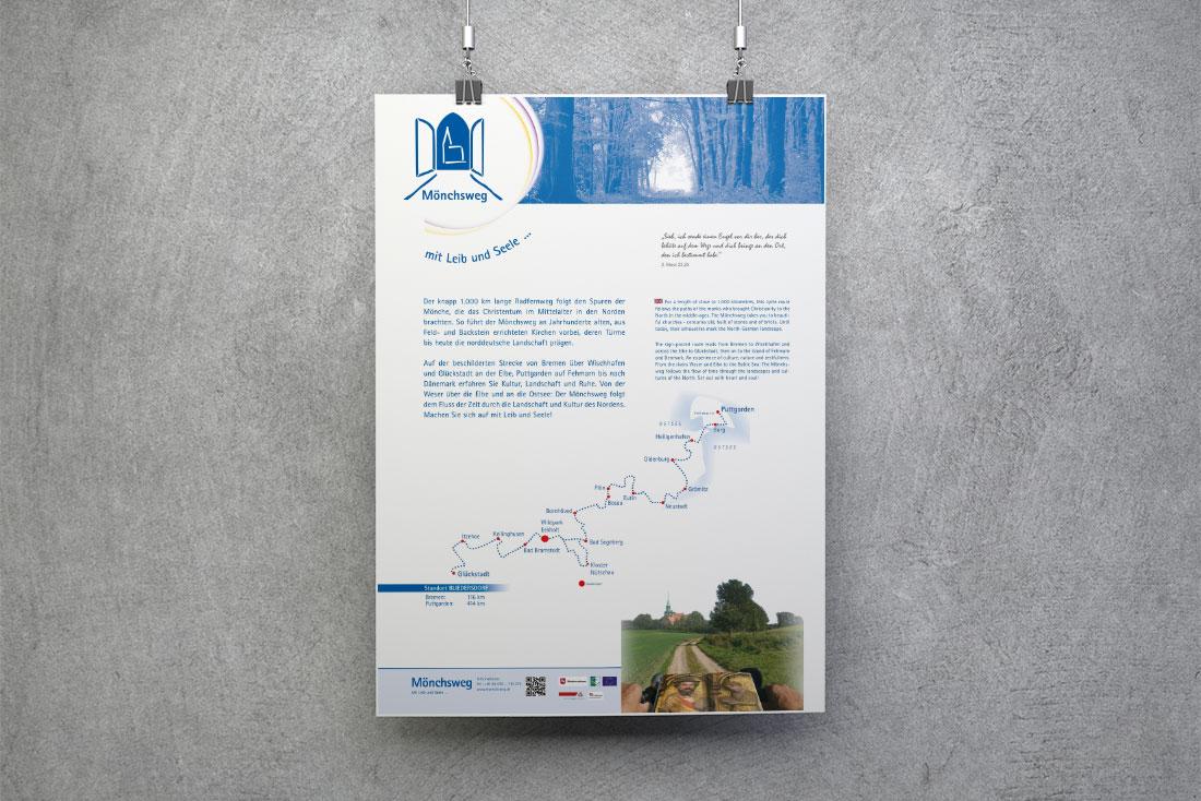 "Fernradweg ""Mönchsweg"""