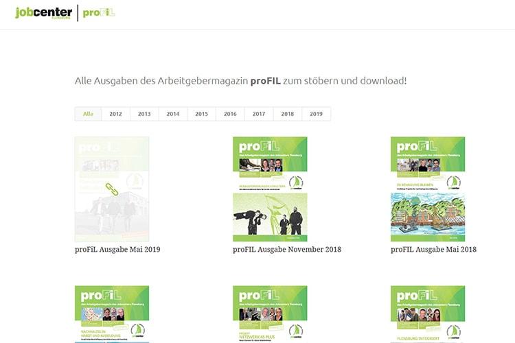 Jobcenter proFiL archiv