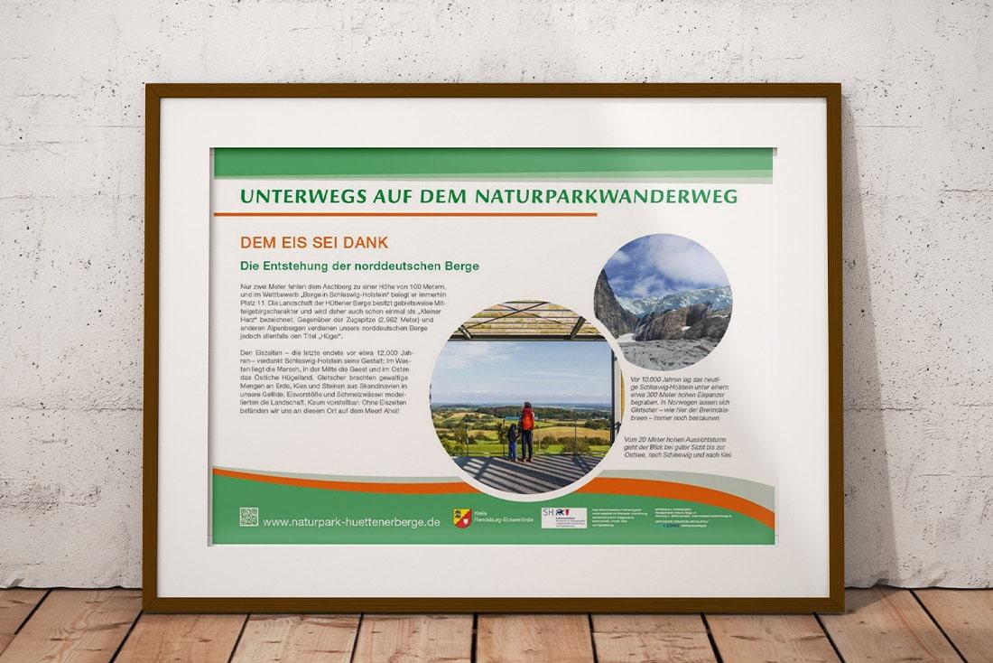 Infotafel Naturparkwanderweg