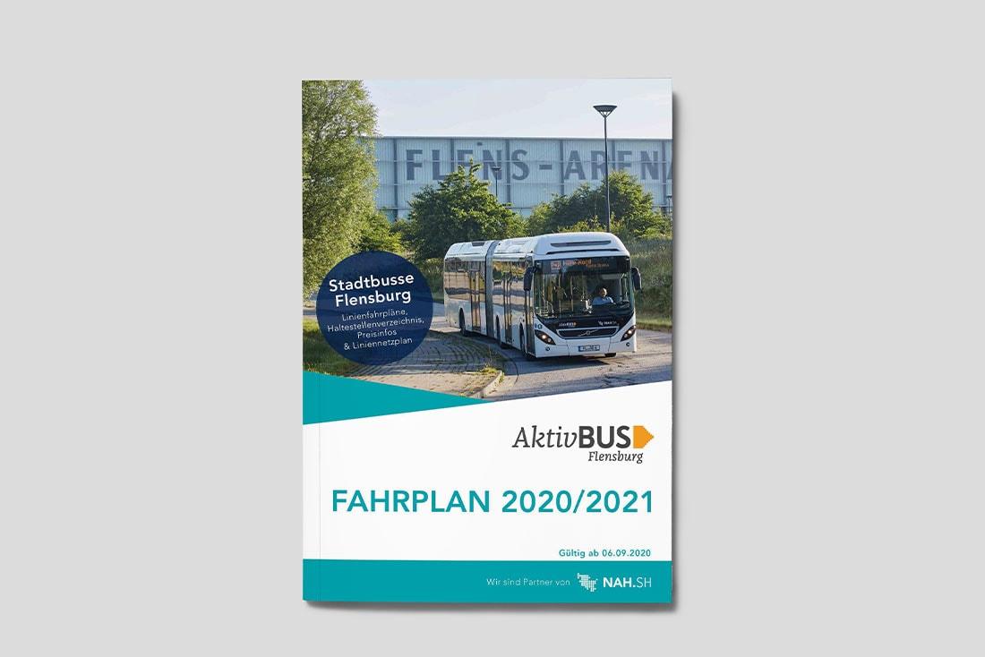 Aktiv Bus GmbH · Fahrplanbroschüre