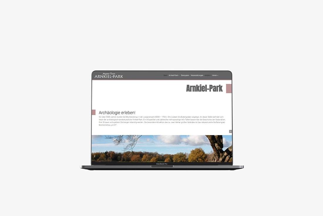 Magister Troels Arnkiel-Park