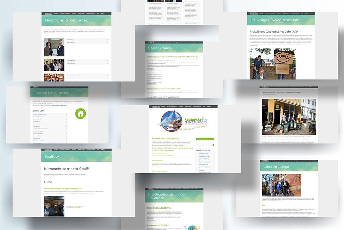 www.klimapakt-flensburg.de · Relaunch