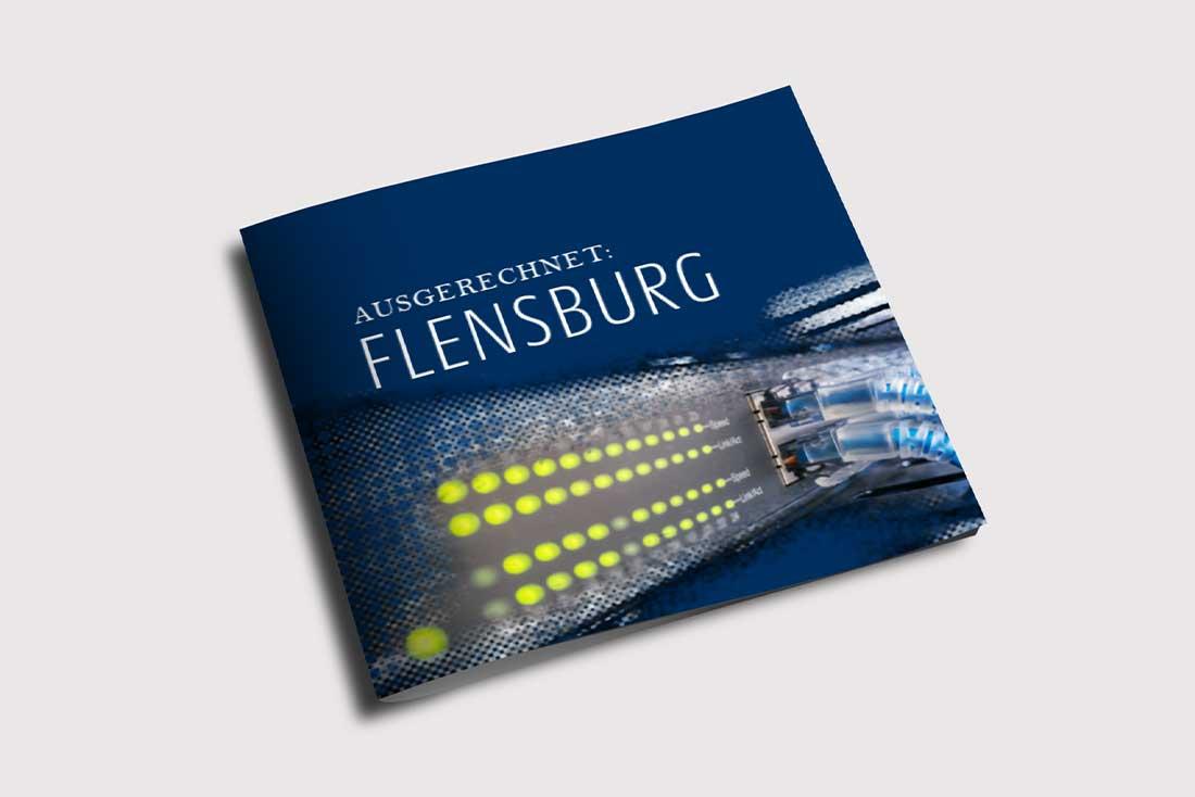 """Stadtwerke Flensburg · Imagebroschüre """"Ausgerechnet FLensburg"""""""