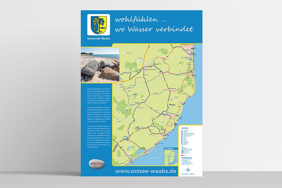 Gemeinde Waabs Infokarten