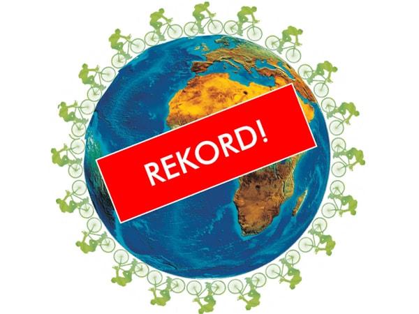 Welt Fahrrad Rekord