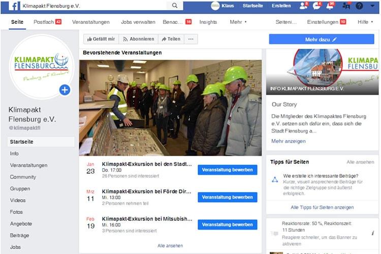 Klimapakt Flensburg Facebook