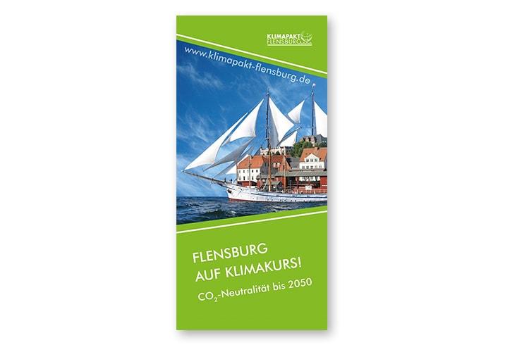 Klimapakt Flensburg Flyer