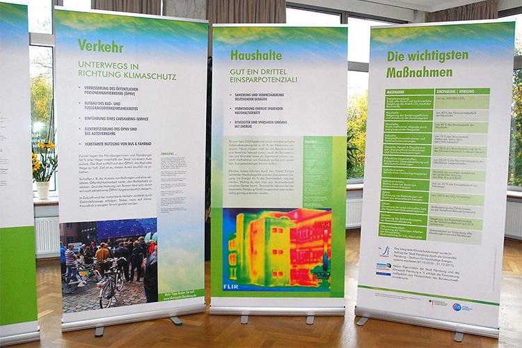 Klimapakt Flensburg Messestand