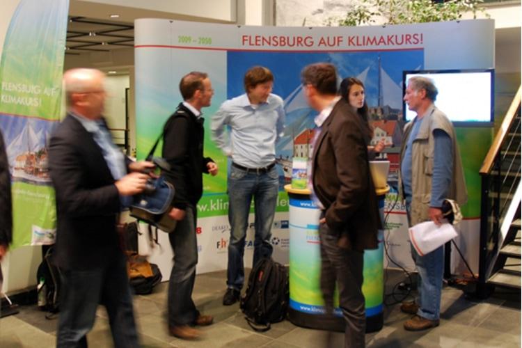 Flensburg auf Klimakurs Pressestand