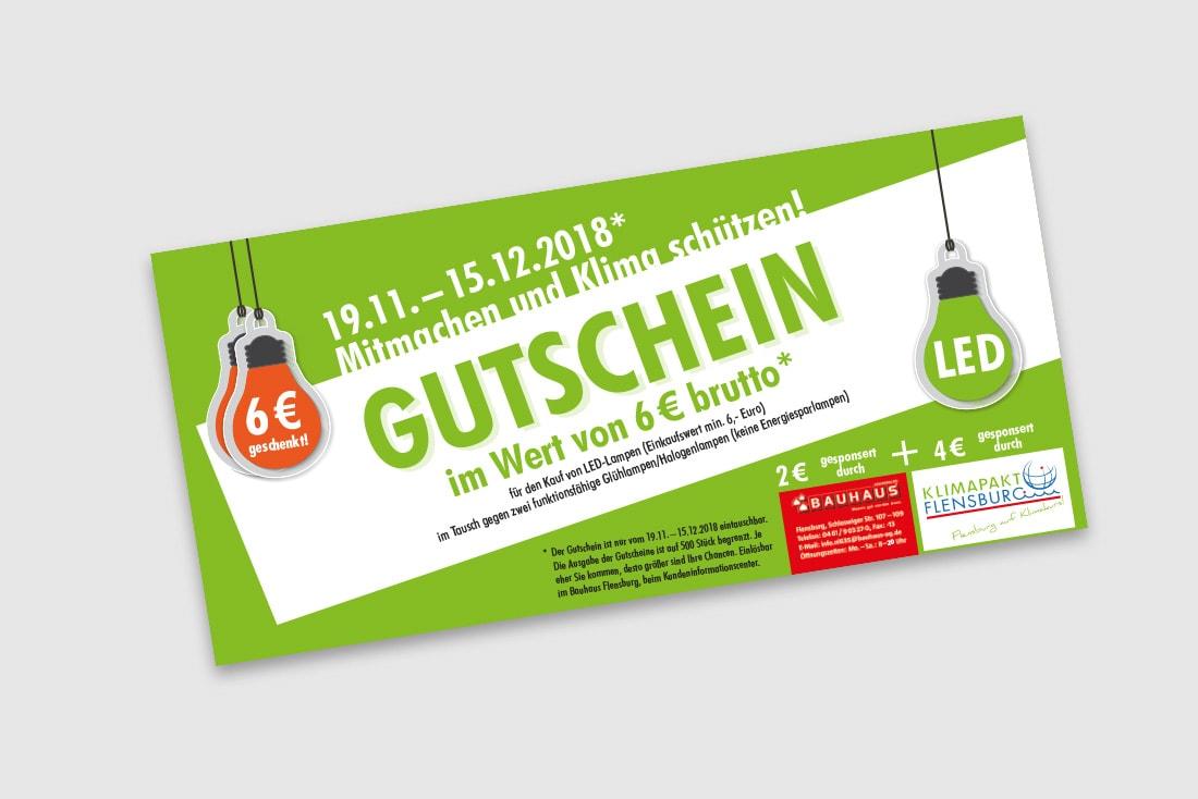 """Bürgermeisterwette """"Glühbirnentausch"""" · Kampagne"""