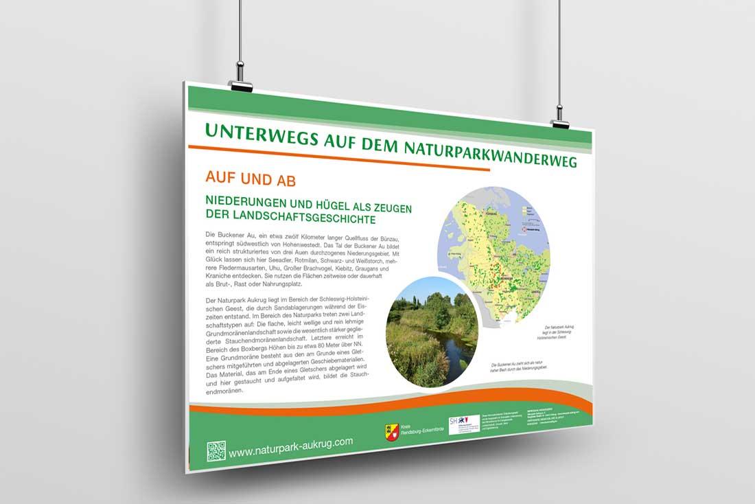 Naturparkwanderweg  · Leit- und Informationssystem