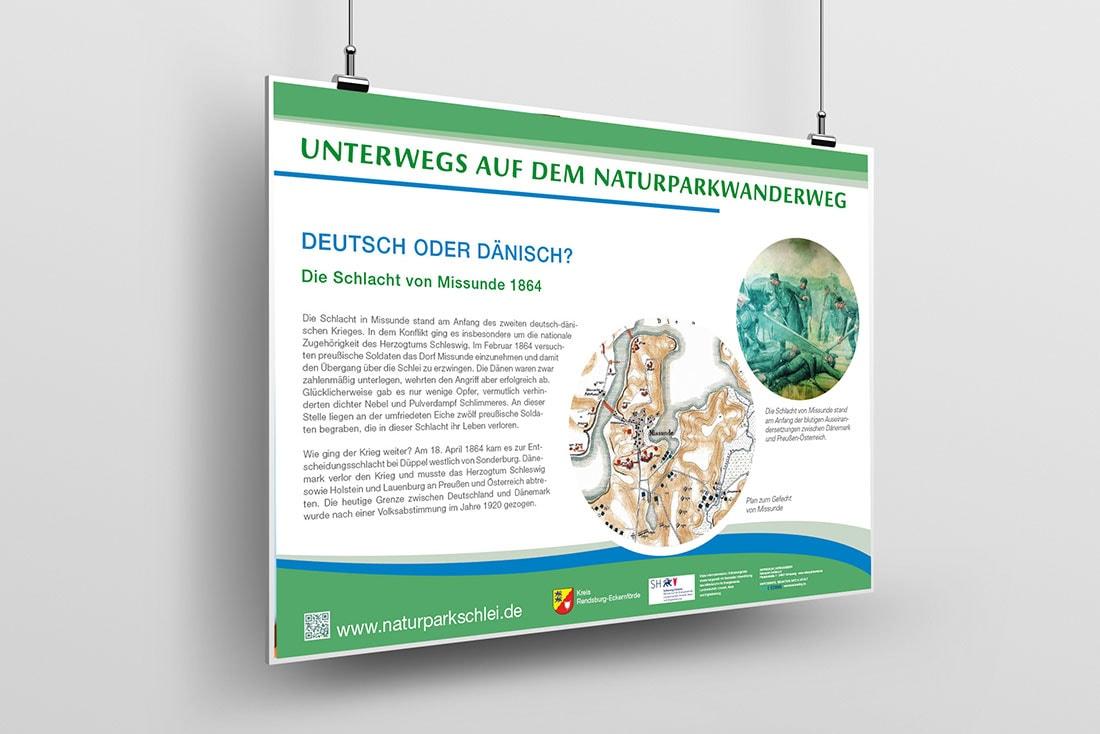 Naturparkwanderweg Schlei · Leit- und Informationssystem