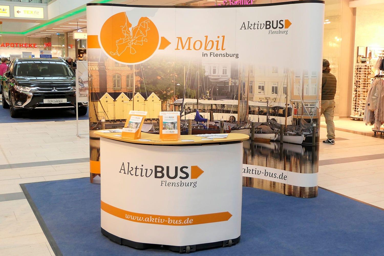 Aktiv Bus GmbH · Messestand