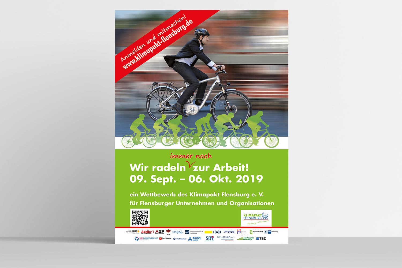 Klimapakt Flensburg · Kampagne Radeln zur Arbeit