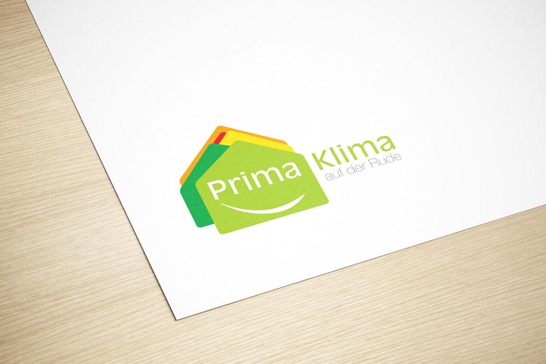 Prima Klima · Logoerstellung