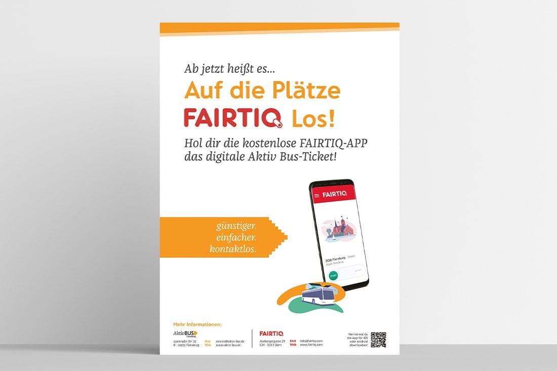 FAIRTIQ· Einführungskampagne