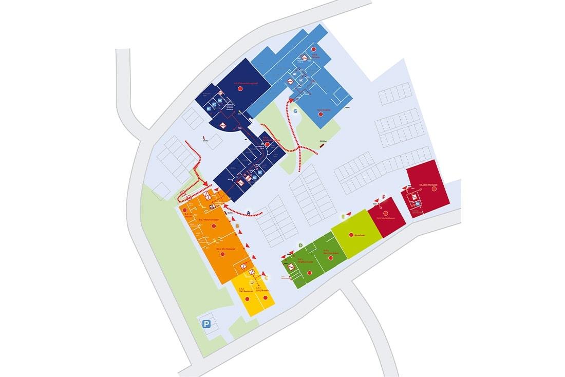 Handwerkskammer Flensburg · Besucherleitsystem