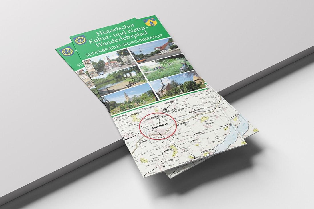 Faltblatt· Historischer Kultur- und Natur-Wanderlehrpfad