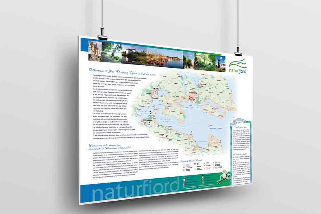Naturfjord · Leit- und Informationssystem
