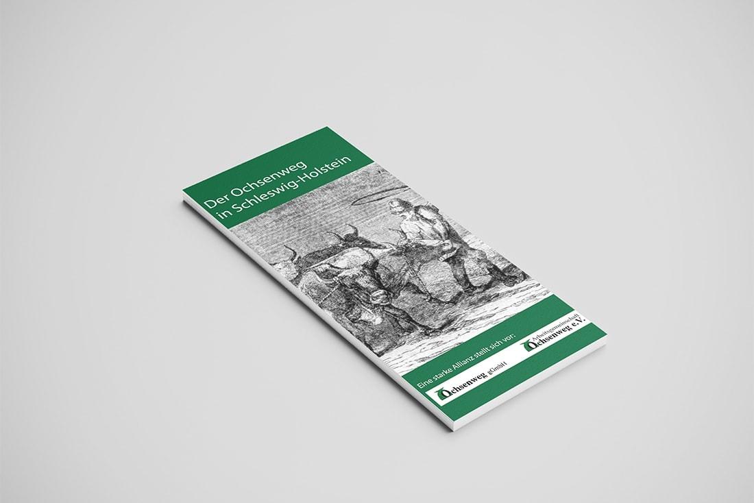 Ochsenweg · Faltblatt