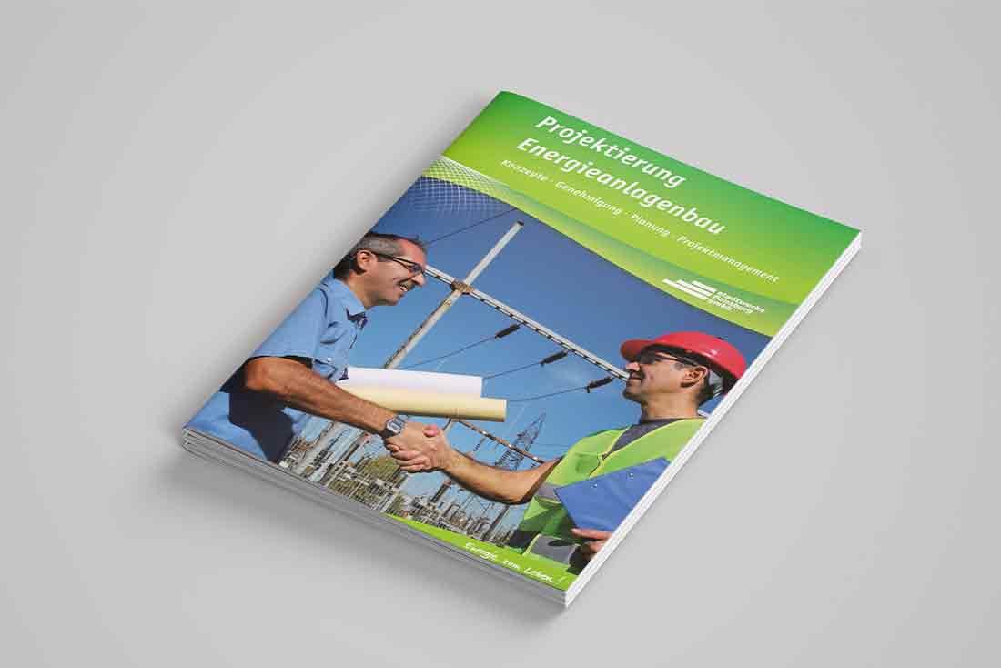 """""""Projektierung Energieanlagenbau"""" · Broschüre"""