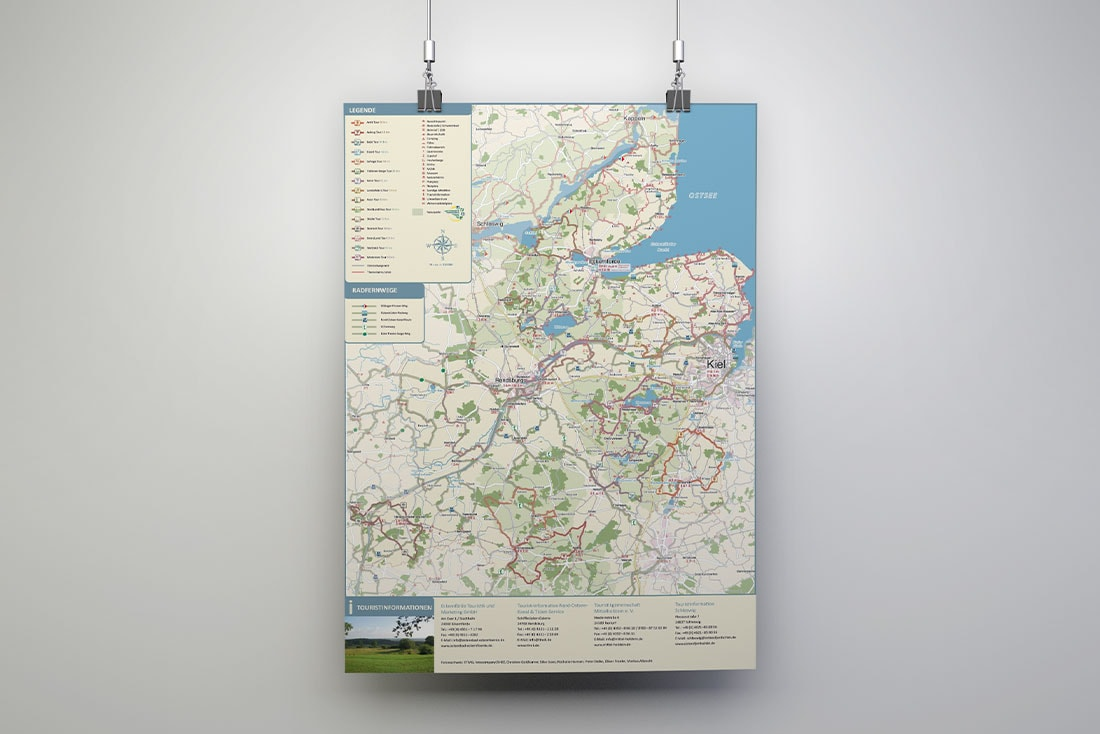 Themenrouten Rendsburg-Eckernförde· Themenkarte