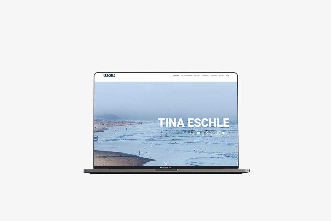 Tina Eschle · Webseite